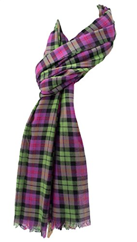 Price comparison product image Zangenberg Tartan Fair Trade Scarf Scarves