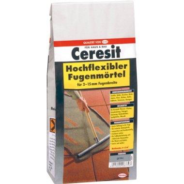 Ceresit Fugenmörtel Hochflexibel, 2-15 mm, 5 kg, grau, CBD4
