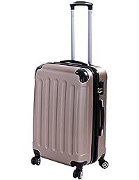 P-Collection Koffer Trolley Handgepäck Hartschale 4 Zwillingsrollen