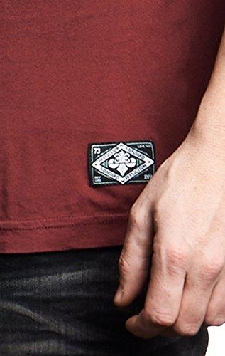 Affliction T-Shirt Standard Rot Rot