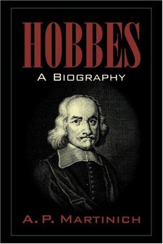 Hobbes: A Biography: A Biography (Ap Erinnerung)