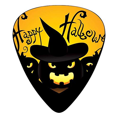 happy Halloween Day Celluloid Electric Guitar Picks 12-pack Halloween-coin-set