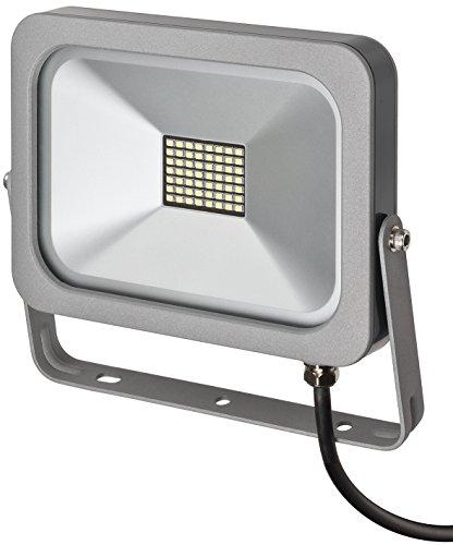 Brennenstuhl 1172900300 Projecteur slim LED, Aluminium, , 30 W, Blanc, 20,2 x 23,1 x 3,5 cm