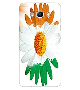 ColourCraft Beautiful Flower Design Back Case Cover for SAMSUNG GALAXY J7 (2016)