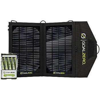 Goal Zero Kit solaire guide 10+ compact à chargement ultra-rapide