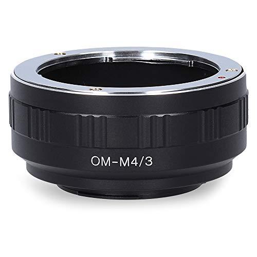 Berlin Optix OM-M4/3 Kamera Objektiv Adapter kompatibel mit Micro Four Thirds M4/3 MFT Ring (Olympus OM)