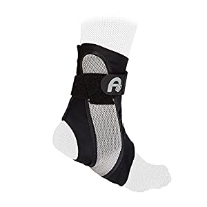 Aircast A60 Ankle Brace - Lightweight, Foot Support, Protection, Prevents Injury, Guard, Stabiliser, Not Bulky, Sprain, Swollen, Broken, Pain Relief, Sports, Gym, Fitness, Running