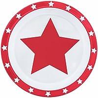 pimpalou 0179977 Melamin Kinder-Geschirr Set Sterne mint 5-teilig