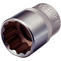 """KS Tools 911.1584 - Llave de vaso para tornillo de 12 cantos (24 mm, 1/2"""")"""