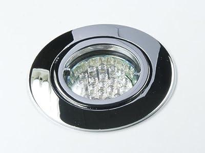 LED Einbauleuchte/Spot Lea 230V chrom inklusive 20er LED Leuchtmittel in warmweiß von Kamilux bei Lampenhans.de