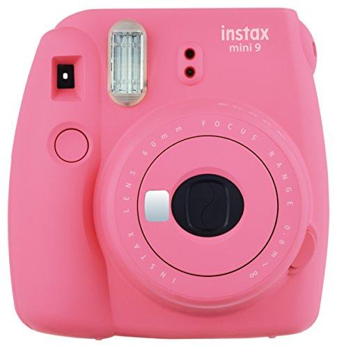 Fujifilm Instax Mini 9 - Cámara instantánea, Solo cámara, Rosa