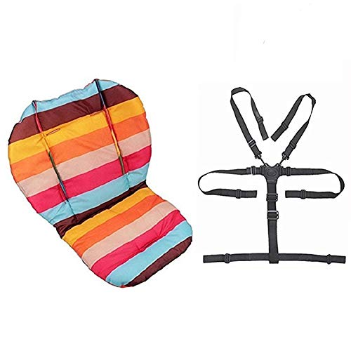 Sacs d'assise, Ywoworld bébé Poussette/voiture/chaise haute Coussin d'assise Liner Mat Pad Housse...