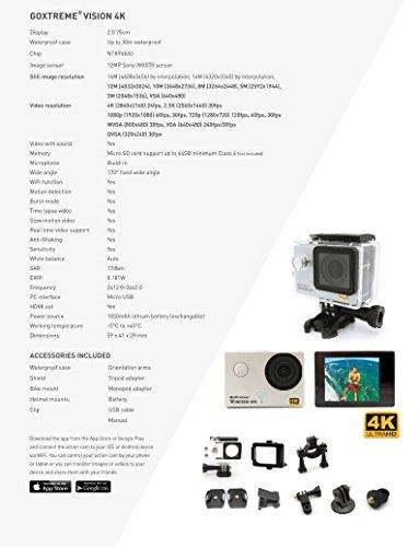 GoXtreme Vision 4K UltraHD Actionkamera - 7