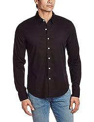 Levis Mens Casual Shirt (6901462437974_17658-0041_Large_Black)