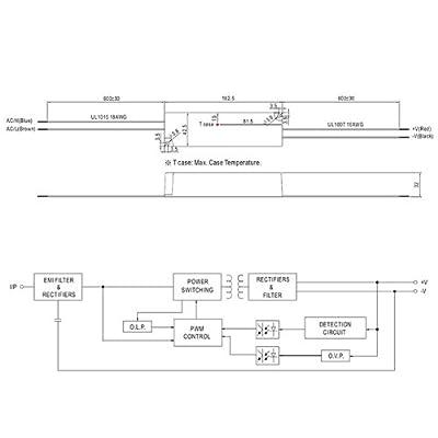 Isolicht LED Trafo MW LPV 24V/DC, 0-60W, IP67 von Isolicht bei Lampenhans.de