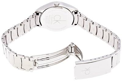 Calvin Klein ck classic K4D2314Z - Reloj para mujeres, correa de acero inoxidable color plateado de Calvin Klein