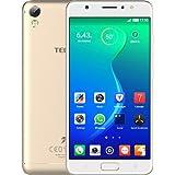 Tecno I3 (Champagne Gold, 16GB, 2GB Ram With Night Selfie Flash Camera) 4G VOLTEE