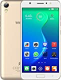 TECNO i3 Dual Sim Android 7.0 Nougat Mobile Phone with 1.3 GHz MediaTek MT6737 Processor, 8 MP 5-inch Screen (Champagne Gold, 16 GB)