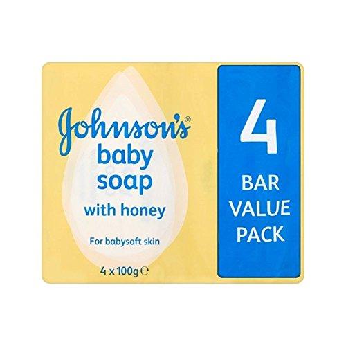 Johnsons Baby-Seife Mit Honig 4 X 100 G - Packung mit 4 (Seife Lewis)