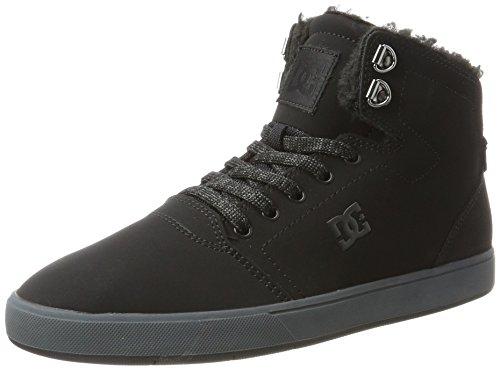 Dc Shoes Crisis High Wnt, Chaussures De Sport Multicolore Multicolore Pour Homme (noir / Gris)