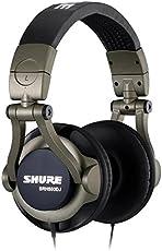 Shure SRH550DJ Professional Quality DJ Headphones (Smokey Grey)
