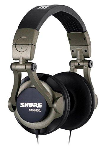 Shure SRH550DJ, geschlossener DJ-Kopfhörer / Over-ear, geräuschunterdrückend, faltbar, drehbare Ohrmuscheln, erweiterter Bass thumbnail