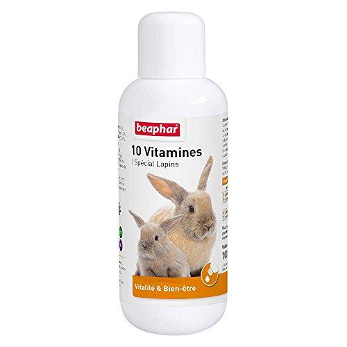Beaphar - Complexe de 10 vitamines pour une santé...