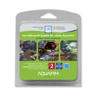 Aquafim M-02 Complete Sea für Meerwasser Aquarien - Alle Nährstoffe. Ein Produkt. Aktive Zeit 2 Monate