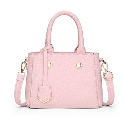 Eysee, Borsa tote donna nero Beige 23cm*16.5cm* 9.5cm Pink