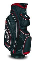 2015 Callaway Chev ORG Caddybag Herren Golf Trolley Tasche 14 Unterteilungen - Schwarz/Rot/Weiss, Rechts, Eine Größe