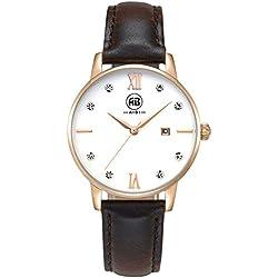 AIBI Damen Analog Quarz Wasserdicht Armbanduhr AB51001-4