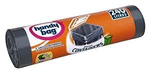 Handy Bag - 3240290003863 - Protégé - Containers - Sachet de 5 Sacs - 240 L - 114 x 140 cm