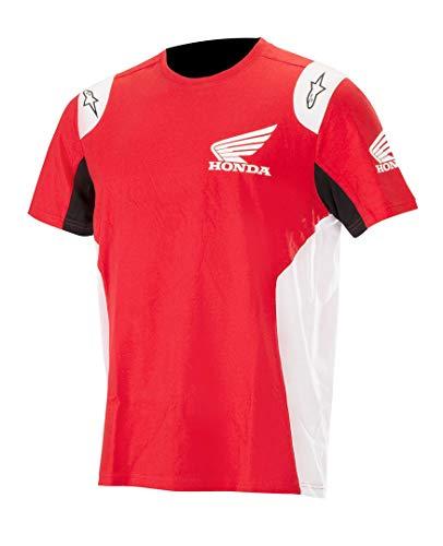 Alpinestars T-Shirt Moto Honda (S - Rosso)