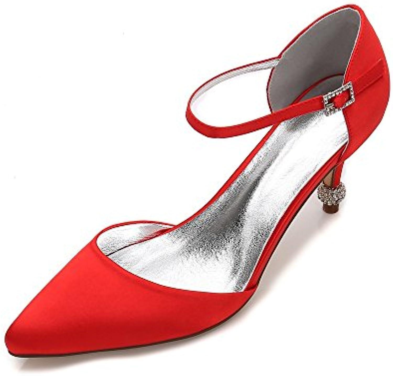 Duoai@ Punta di Scarpe High-Heeled Bianco Fine con Scarpe Scarpe Scarpe Donna Matrimonio Scarpe accompagnato Lady Scarpe scanalato... | Nuovo Prodotto 2019  | Maschio/Ragazze Scarpa  c3ac25