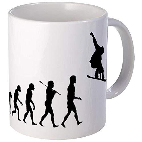 Snowboard Grab Evolution Mug Unique Coffee Mug, Coffee Cup