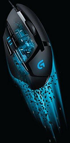 Logitech G402 Hyperion Fury FPS Gaming Mouse (mit 8programmierbaren Tasten, USB) schwarz - 7