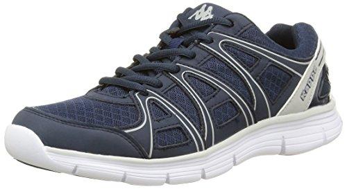 ULAKER BLU - Chaussures Running Homme Kappa Bleu (Navy/Silver)