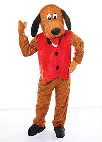 rwachsene Größe Hund Maskottchen Kostüm ()
