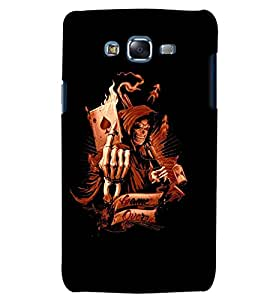 GADGET LOOKS PRINTED BACK COVER FOR Samsung Galaxy J7 2016 MULTICOLOR