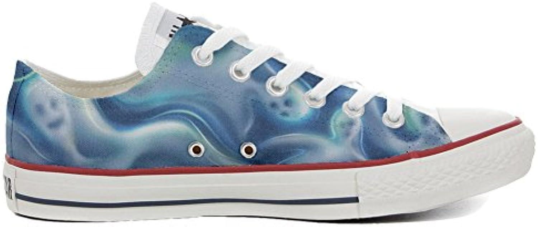 Schuhe Schuhe Converse All Star Custom  Personalisierte Schuhe (Handwerk Produkt Customized) Ghost