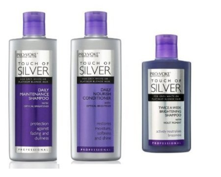 Pro:Voke Set Of 3 - Touch Of Silver - Silver
