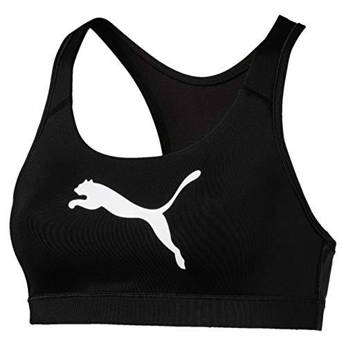 Puma 4Keeps Bra M Sujetador Deportivo, Mujer, Negro Black-Cat, S
