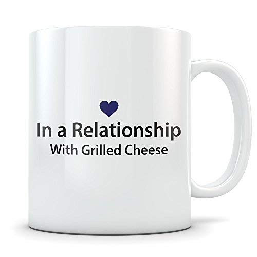(UltimateGiftsShop Grilled Cheese Lover Gift Funny Mug for Snack Food Lovers Great Gag Cup for Someone Who Loves to Eat Sandwiches)