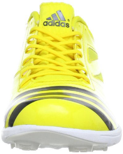 adidas Performance adizero TJ 2 Q34045, Scarpe da corsa unisex adulto Giallo (Gelb (Vivid Yellow S13 / Black 1 / Black 1))