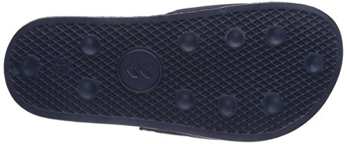 Hummel HUMMEL SPORT SLIPPER, Chaussures de bain mixte adulte Bleu (Dress Blue/White)