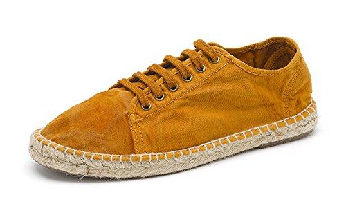 Natural World Eco Chaussures Espadrilles Vegan Tennis Baskets Mode Tendance en Jute Pour Hommes Coloris Variés – Bio – Classiques - Basket Yute ENZIMATICO - Chaussures à Lacets 646