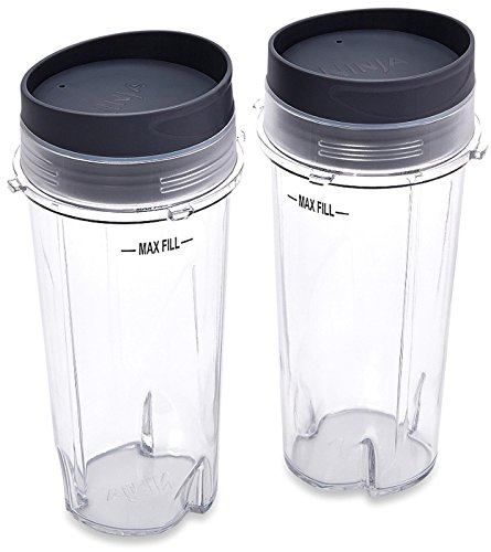 Ninja licuadora taza 16oz Solo sirven para taza con tapa de Sip n Seal para Ultima y profesional serie Nutri Ninja