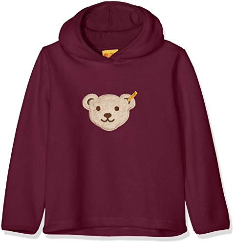 Steiff Mädchen 1/1 Arm Fleece Sweatshirt, Violett (Pickled Beet|Purple 7044), 98 Fleece-armee Pullover