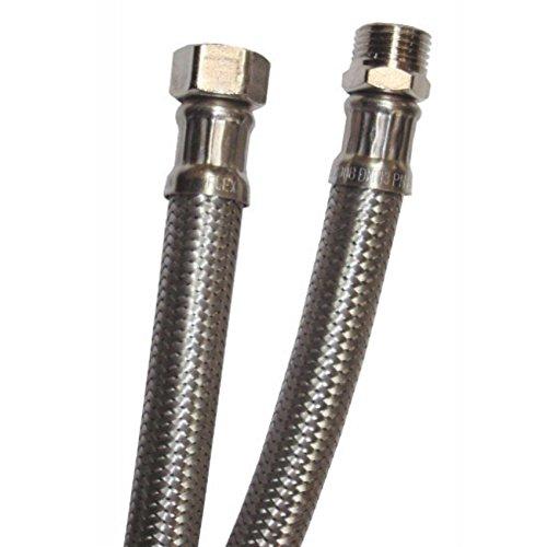 Flessibile acciaio inox tubo per acqua ricambio per miscelatore monocomando rubinetteria per bagno e cucina attacco 1/2