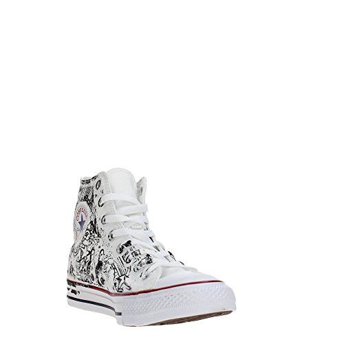 Converse 160430C Sneakers Unisexe OPTICAL WHITE/RED/BLACK